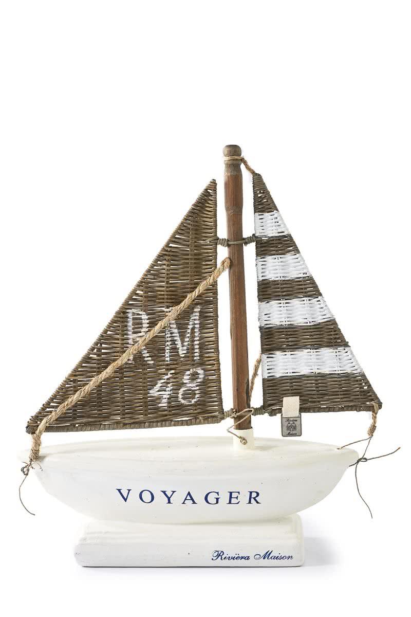 Riviera Maison RM 48 Yacht – Decoratief Object – Wit