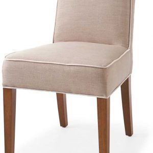 Riviera Maison RM Classic Dining Chair – Eetkamerstoel – Flax/Wit