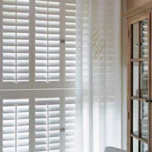 Riviera Maison RM Classic – Gordijn – 140 x 270 cm – Flax/Wit