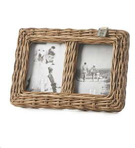 Riviera Maison – RR Family Photo Frame – Fotolijst – Naturel – Rattan
