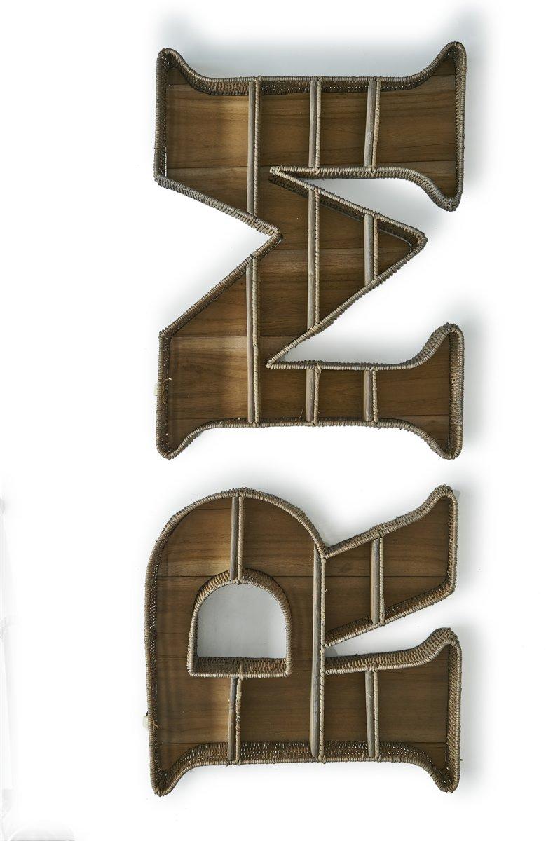 Riviera Maison – Rustic Rattan RM Wall Shelf – Wandbord – Hout