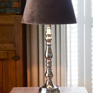 Riviera Maison Saint Germain Lamp Base – Tafellamp – Zilverkleurig