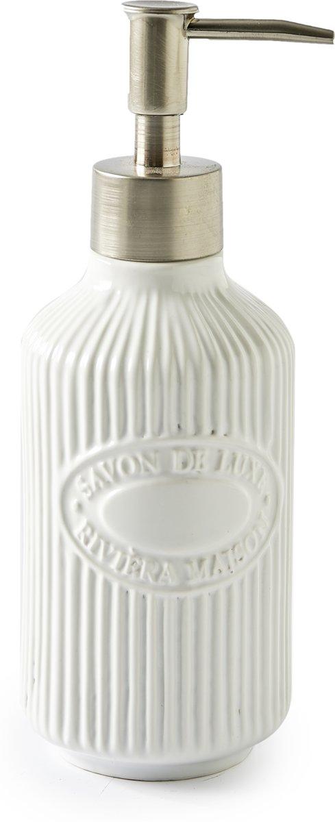 Riviera Maison – Savon De Luxe Soap Dispenser – Handzeepdispenser – Porselein