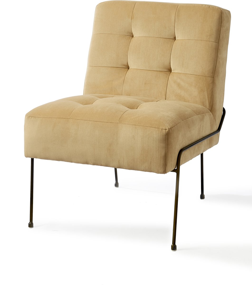 Riviera Maison Soho Lobby Chair – Khaki – Loungechair
