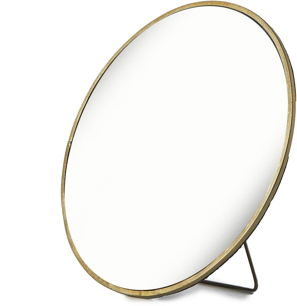 Riviera Maison – Taranto Mirror Dia 23 – Spiegel – Goud – Ijzer