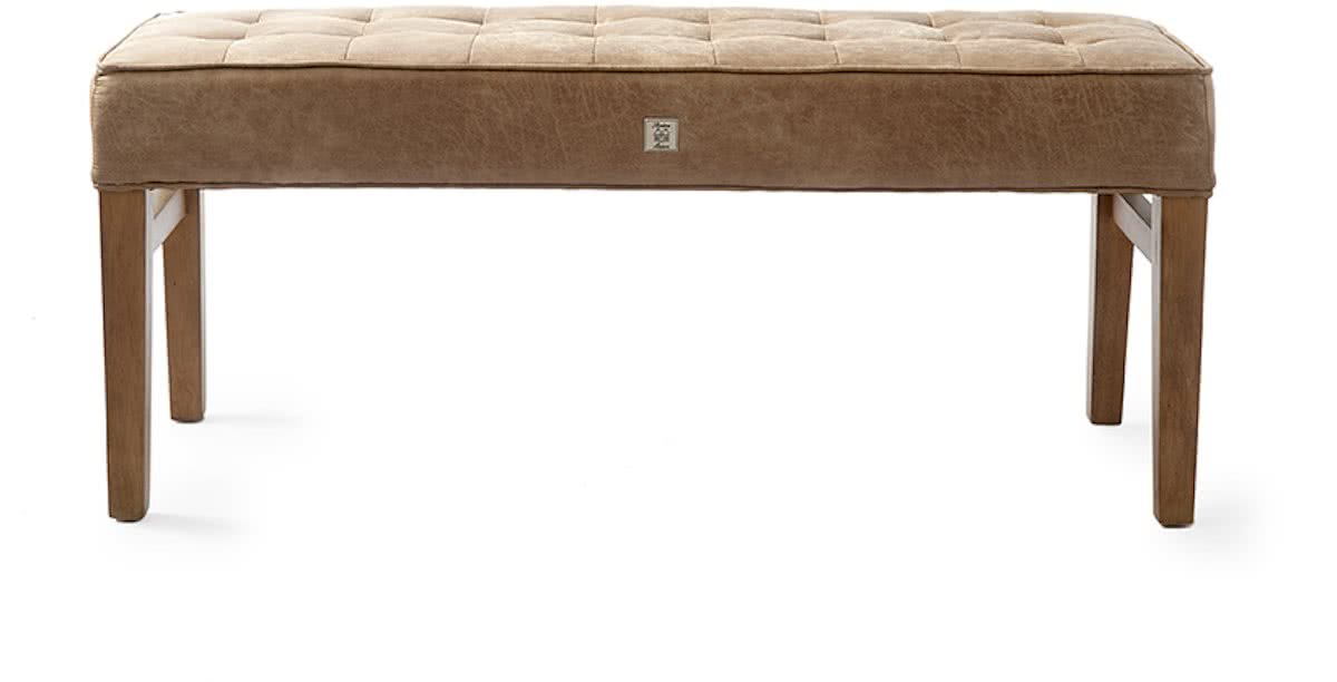 Riviera Maison The Club Bench – 160×40 cm – pellini Camel – Bank