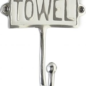 Riviera Maison – Towel Hook Enamel – Ophanghaken – Aluminium