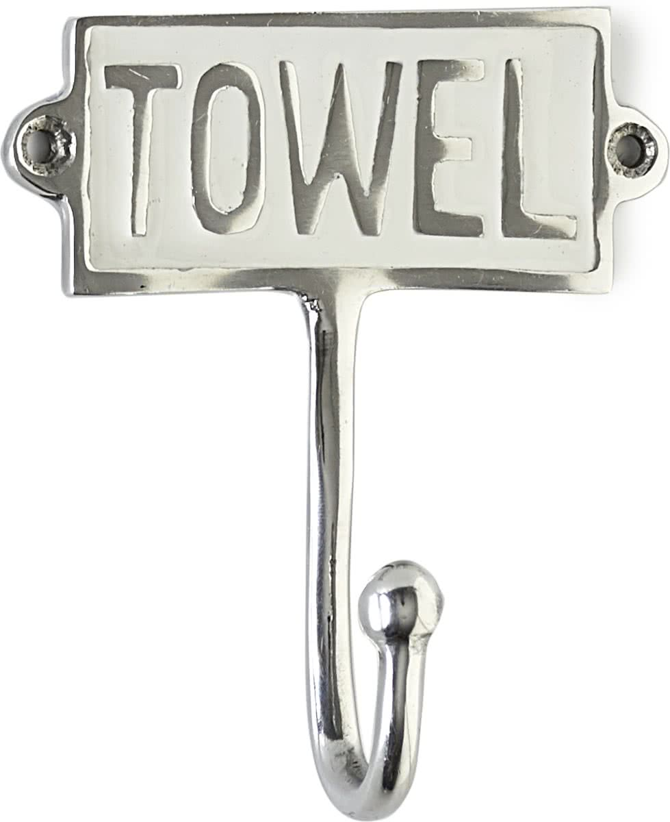 Riviera Maison Towel Hook Enamel Ophanghaken Aluminium