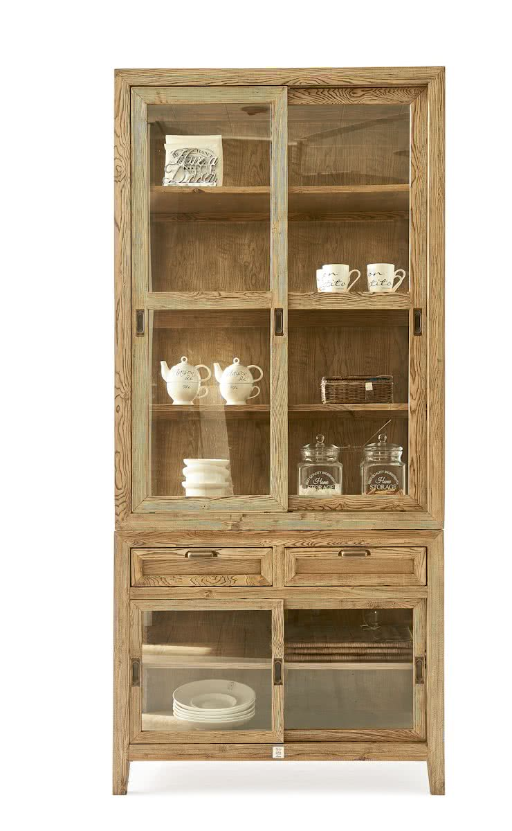 riviera maison wainscott glass cabinet vitrinekast kast