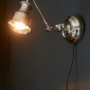 Riviera Maison Wall Lamp Bristol Park – Wandlamp – Aluminium