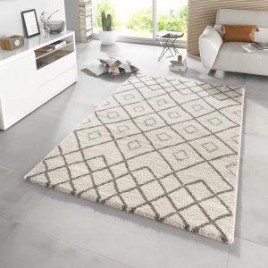 Symmetrisch Vloerkleed Maison –  Crème Taupe 200  x 290 cm